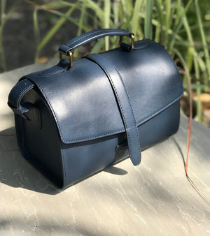 Navy mini bowler