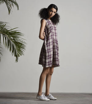 PREPPY GINGHAM FROCK