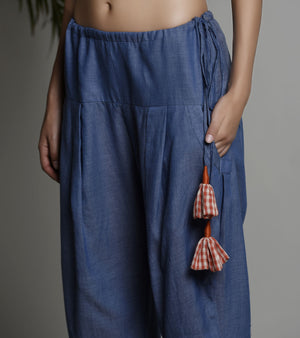 BLUE SALWAR PANTS