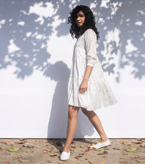 Ivory Smock Frock