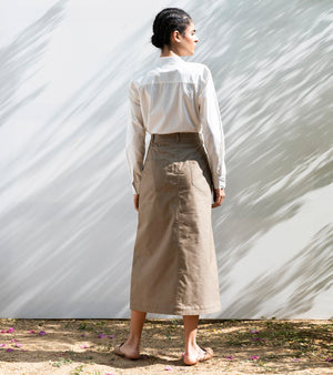 Desert Ironwood Long Skirt