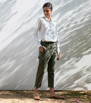 Sycamore Cropped Trousers