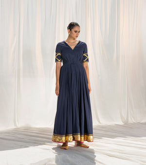 Rohma Pleated Gown