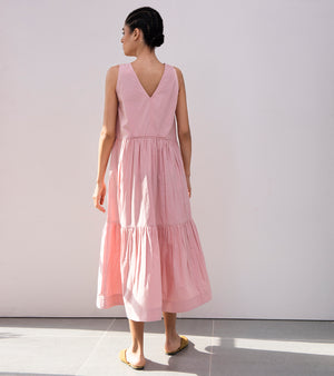 Petals of Peony Midi Dress