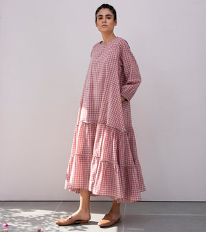 Helen Borcher Gingham Dress