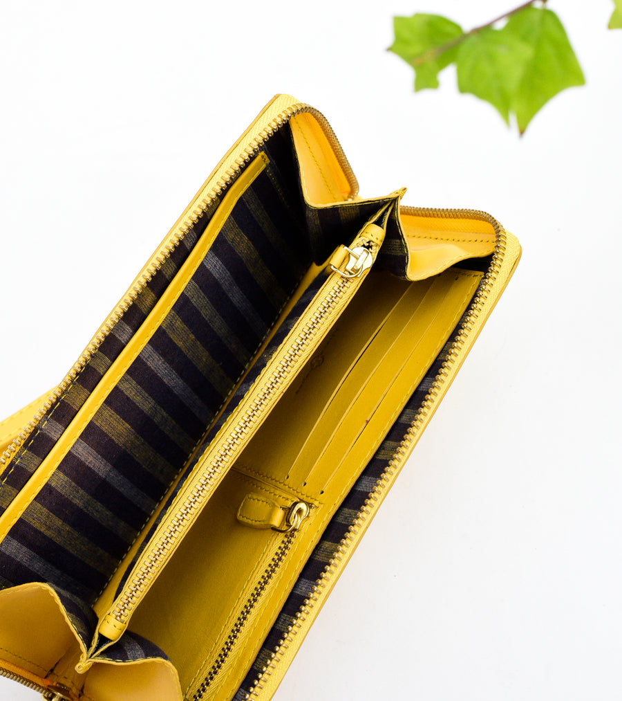 Double Chamber Wallet – Yellow