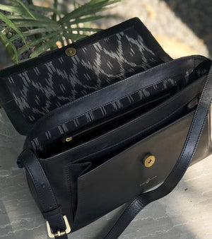 Black cross body
