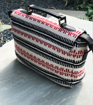Black Canvas Work Tote