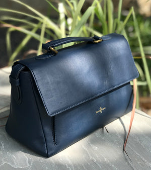 Navy cross body