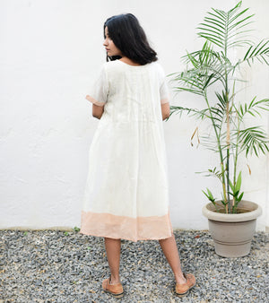 Inverted Box Pleat Dress