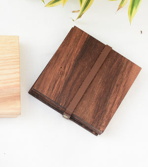 Sheesham Wooden Coasters