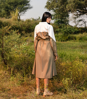 Clive Trench Dress