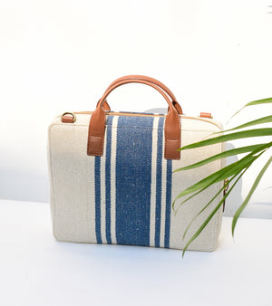 Canvas Mini Briefcase Bag