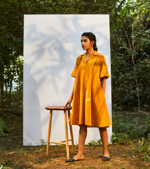 Ochre Slack Dress