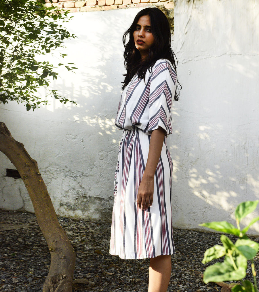 Simile Striped Dress