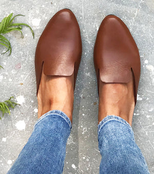 Brown Mules