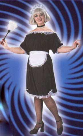 French Maid Costume - Plus Size