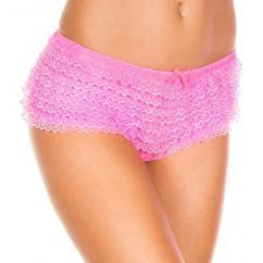 Ruffle Panty boy short