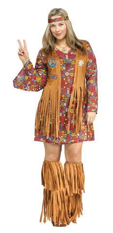 Peace & Love Hippie Costume 35-123455