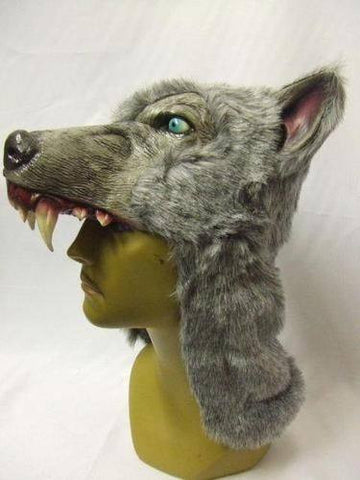 Wolf, Gray Helmet Mask