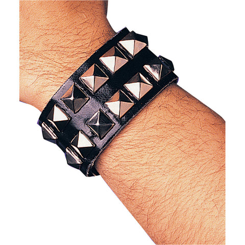 Double Studded Wristband #8-25185