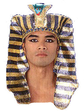 Pharaoh Headpiece - Deluxe Egpytian