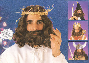 Jesus / Royal Wig & Beard Set