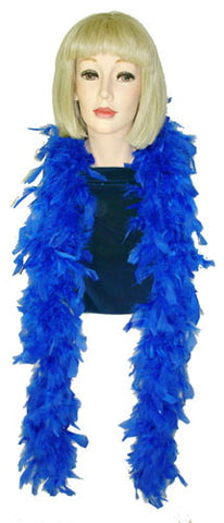 Royal Blue Boa - Chandelle