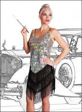 Flapper Dress -Woman's