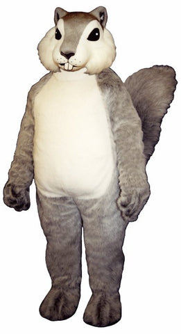 Grey Squirrely Costume