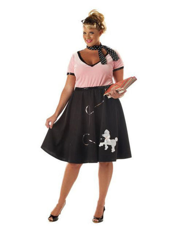 1950's Poodle Skirt Plus Size