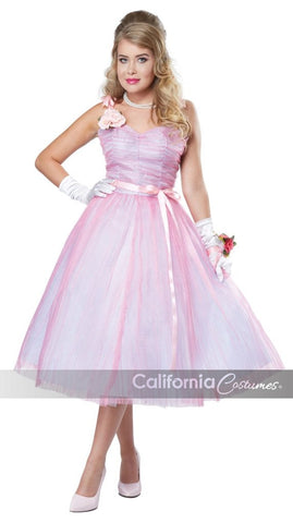 1950's Prom Teen Angel - Adult Costume