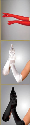 Elbow Length Opera Gloves -Luna