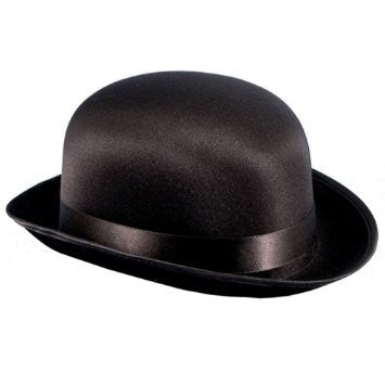 Hat, Satin Derby