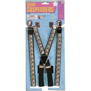 Studded Suspenders #8-64534