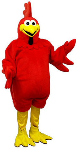Fat Red Rooster Costume