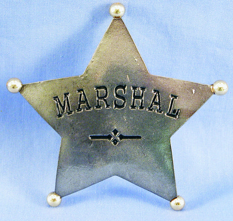 Badge, Marshall Metal