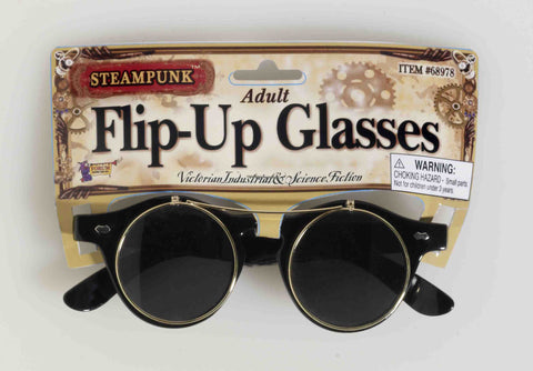 Steampunk Flip Glasses