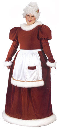 Velvet Plus Size Mrs. Claus