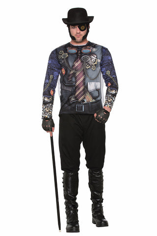 Steampunk Man Sublime Shirt