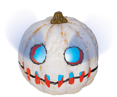 White Pumpkin Prop - Light Up