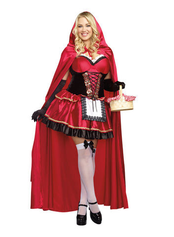 Red Riding Hood  - Sexy Adult Plus Size Costume