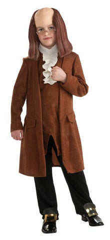 Benjamin Franklin Costume - Boys Costume