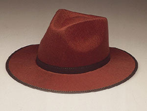 Fedora - Brown Raider Hat
