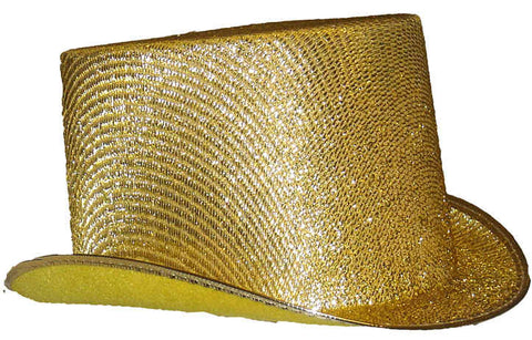 Gold Lurex Top Hat  9-22750