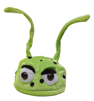 Lime Green Bug Hat
