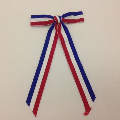 String Tie - Red, White and Blue
