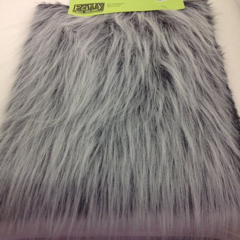 Fur, Gray Shag 88-10091