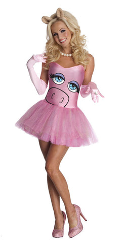 Miss Piggy Adult Costume - The Muppets