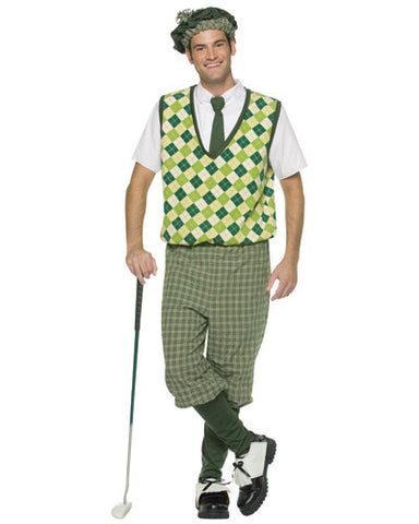 Old Timer Golfer Adult Costume